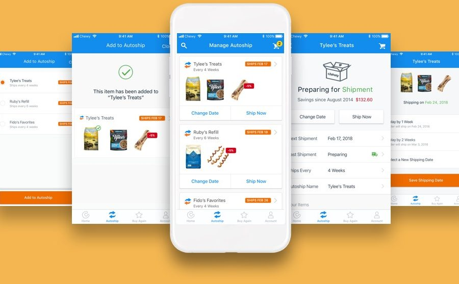 chewy product page optimization