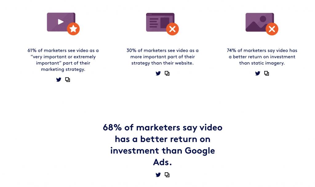 Video statistics 8