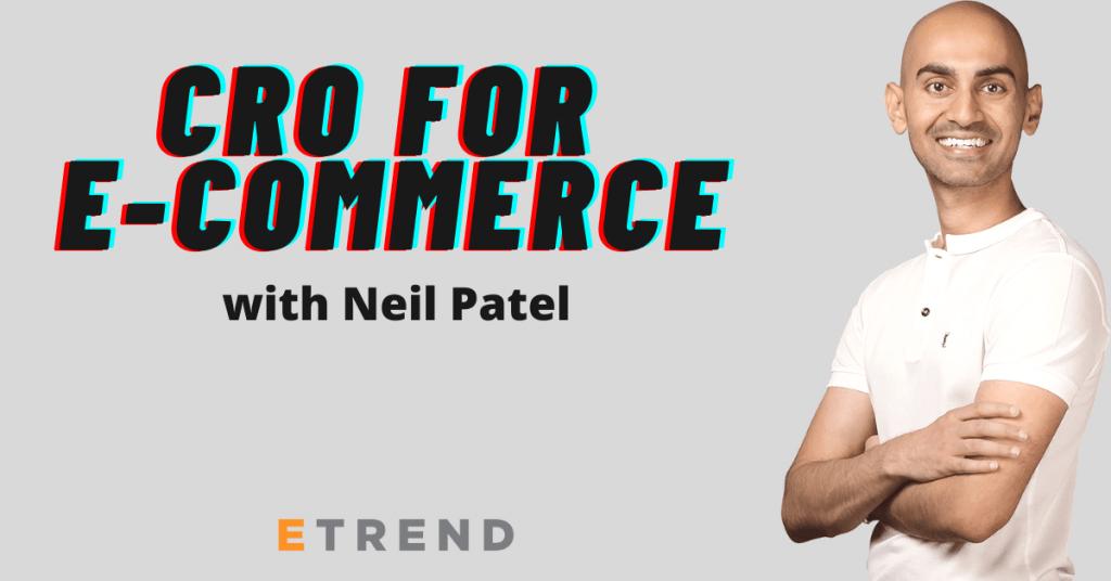 CRO for e commerce