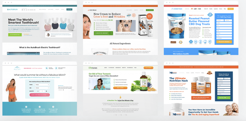 landing page guys ecommerce